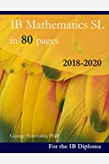 IB Mathematics SL in 80 pages: 2018-2020 (English Edition) Format Kindle