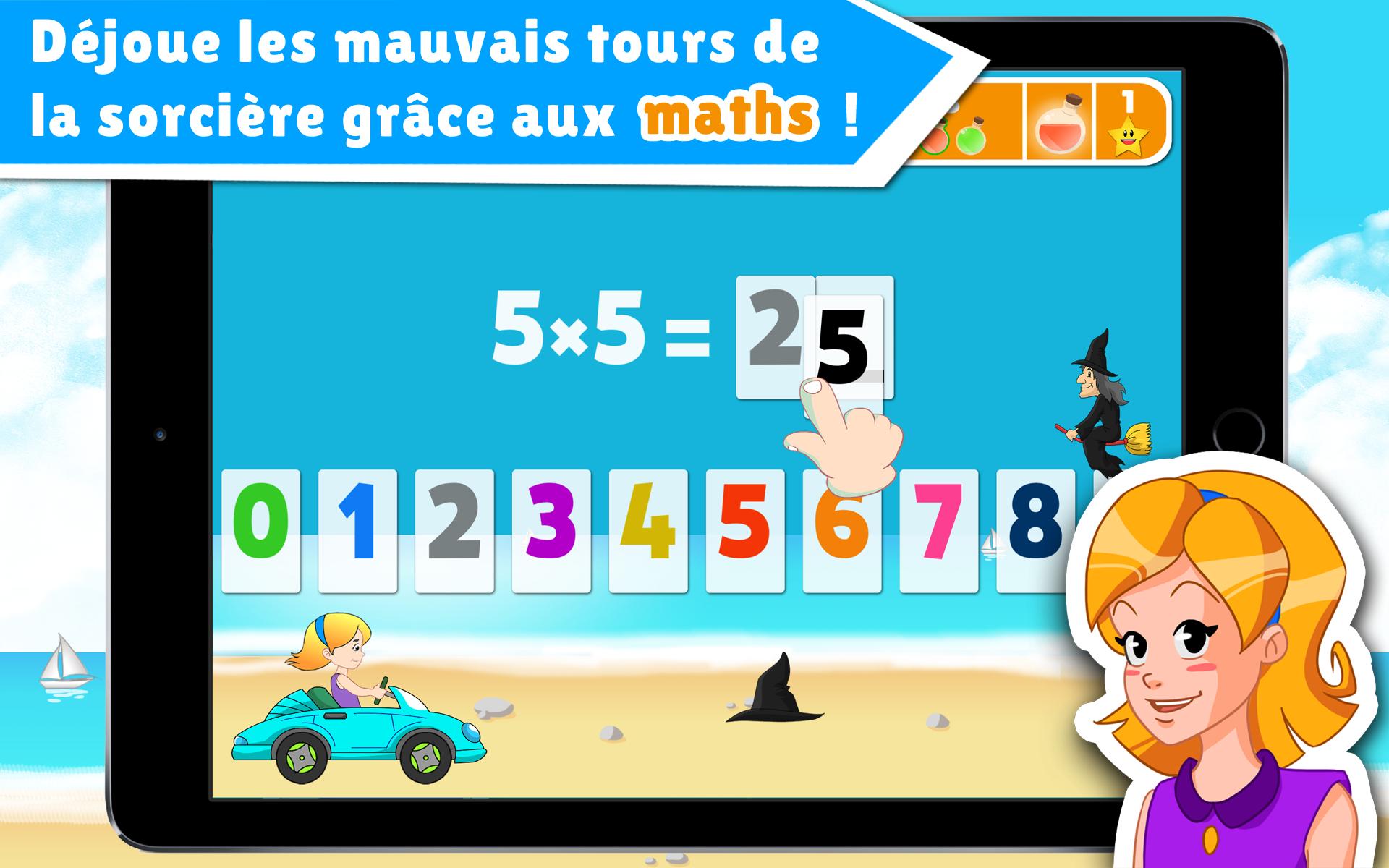 Apprendre les tables de multiplication en jouant l 39 cole for Apprendre ses tables de multiplication en jouant