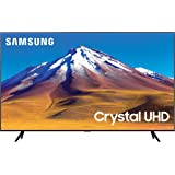 "Samsung TV TU7090 Smart TV 50"", Crystal UHD 4K, Wi-Fi, Black, 2020"