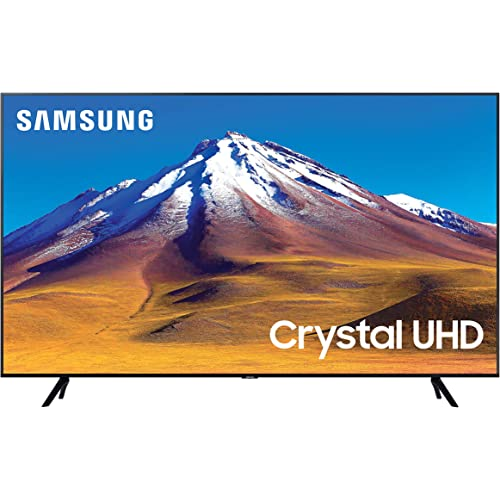 "Samsung TV TU7090 Smart TV 55"", Crystal UHD 4K, Wi-Fi, Black, 2020"