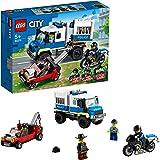 LEGO 60276 City LeTransportdesPrisonniers, Jouet Camion, kit d'extension du Poste de Police