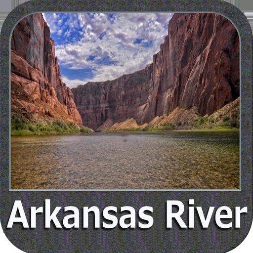 Arkansas River GPS Map Navigator Lowrance-gps-software