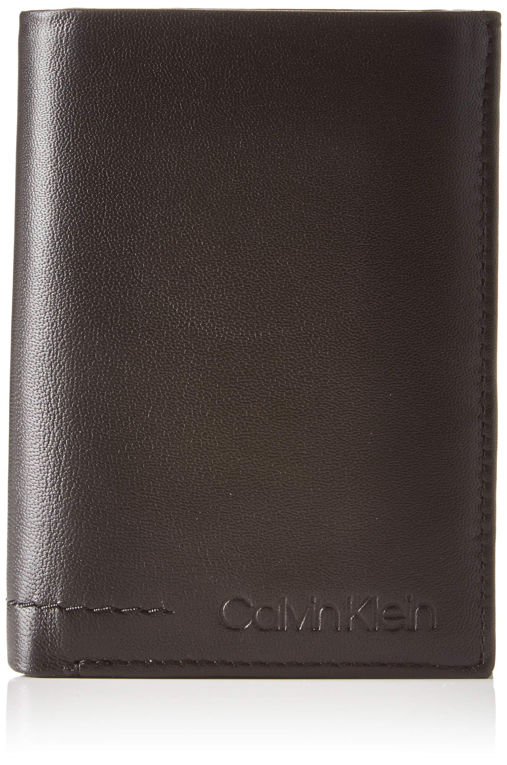 Calvin Klein FLEX NS 8CC COIN PASSHombreShoppers y bolsos de hombroNegro (Black) 9×2.7×12.5 centimeters (B x H x T)