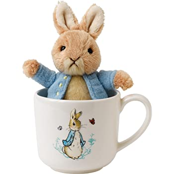 Beatrix Potter Peter Rabbit R Alphabet Mug Gift Box Feeding