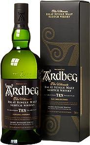 Whisky Ardbeg Islay Single Malt 10 Jahre in Geschenkverpackung (1 x 0.7 l)