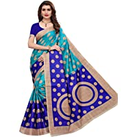 Yashika Women's Bhagalpuri Art Silk Saree With Blouse Piece