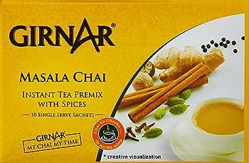 Girnar Instant Tea Premix with Masala, 10 Sachets