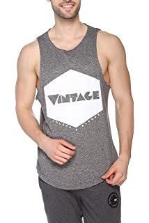 BLEND Cali Mens Sleeveless Vest Tank Top with Print with Print