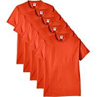 Fruit of the Loom Heavy T-Shirt (Pacco da 5) Uomo
