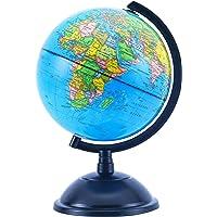 Exerz Schülerglobus 20cm Globus Bildung Drehbarer - Pädagogische/geografische/moderne Schreibtischdekoration - für…