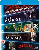 Blu ray 5-Movie Starter Pack: Mama/The Purge/Purge: Anarchy/OUIJA/As Above, So Below [Blu-ray] [2015] [Region Free]