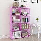 MemeHo® Simple Bookshelf/Multipurpose Rack/Children Bookcases/File Rack for Office/Storage Organizer/Cabinet Shelves for Bedr