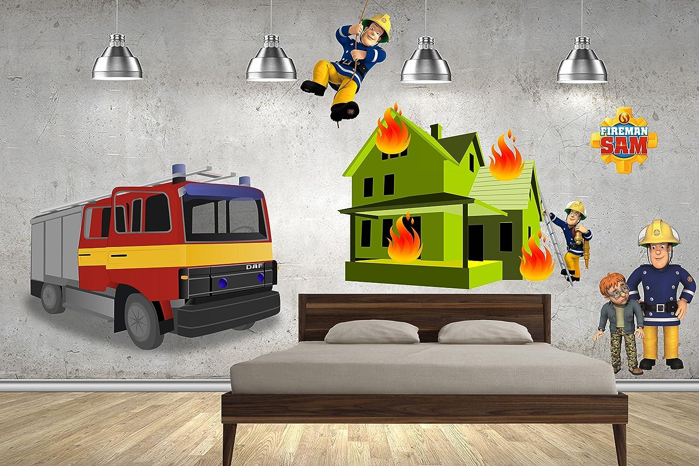 Fireman Sam Wall Stickers Create Your Own Scene Vinyl Wall Art For Cars  Bikes Caravans Homes Customise4UTM (ladder 100cm): Amazon.co.uk: Kitchen U0026  Home Part 62