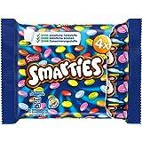 Nestlé Smarties Multipack kleine Rolle bunte Schokolinsen, Hexagonrolle, 8er Pack, (8 x 4 x 38 g)
