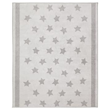 Kinderteppich sterne grau  IKEA Kinder Teppich Sterne 133x160 cm in drei Farben (Hellgrau ...