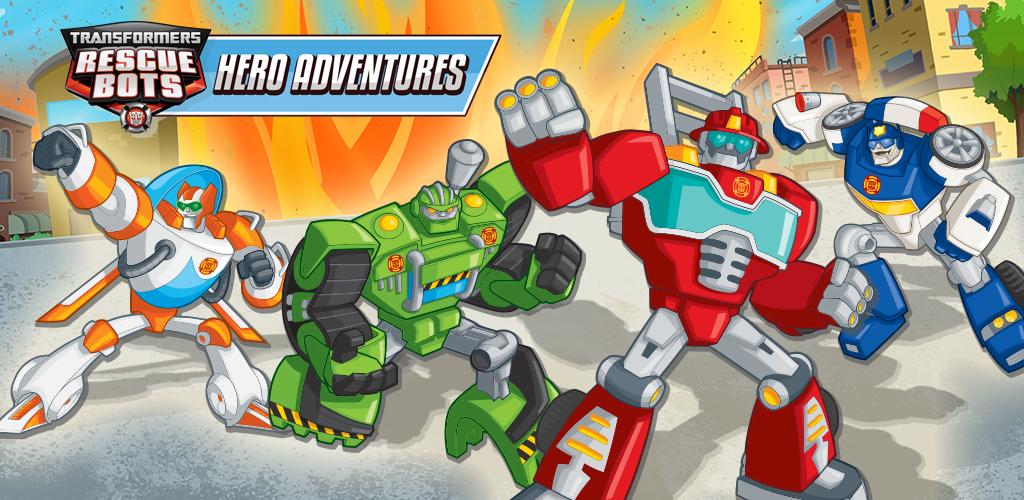 Transformers Rescue Bots Hero Adventures Amazoncouk Appstore