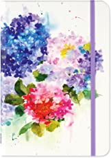 Hydrangeas Journal (Write, Color, Relax)