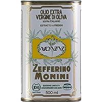 Monini Zefferino Olio Extra Vergine di Oliva in Lattina, Olio in Latta Edizione Limitata Anniversario 100 Anni, Gusto…