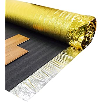 Royale Sonic Gold 5mm Comfort Underlay For Laminate Or Wood Flooring