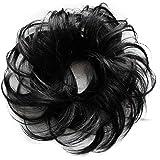 PRETTYSHOP Haarstukje haarelastiek updos bruidskapsels rubberen ring rommelig dutt G1C