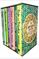 Jane Austen Collection, Deluxe Box Gift Set: Containing: Pride and Prejudice, Emma, Sense and Sensibility, Persuasion, Mansfield, Northanger Abbey Hardcover
