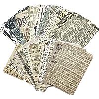 52pcs Scrapbooking Papier Décoratif Vintage Journaling Scrapbooking Accessoires Craft Kits Junk Journal Pages Rétro…