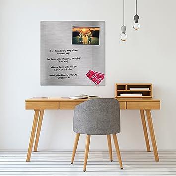 magnettafel kuche glas 80x80 cm whiteboard wand beschreibbar quadratisch magnetisch ka 1 4 che office mit zubehar wochenplaner abwischbar deko memoboard tafel kuchen