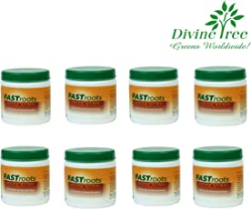 Divine Tree Fast Root Rooting Hormone Powder for Plants Cuttings 50 Gram (Pack of 8)