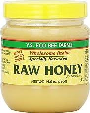 Y.S Eco Bee Farms Raw Honey USA Grade A.-14.0 oz (396 g)