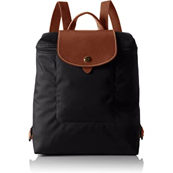 ac37a1d476a3 Longchamp Women 1699089 NOIR Backpack  Amazon.co.uk  Shoes   Bags