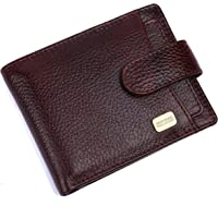Hammonds Flycatcher RFID Protected Brown NDM Leather Wallet for Men|5 Card Slots| 1 Coin Pocket|2 Hidden Compartment|2…