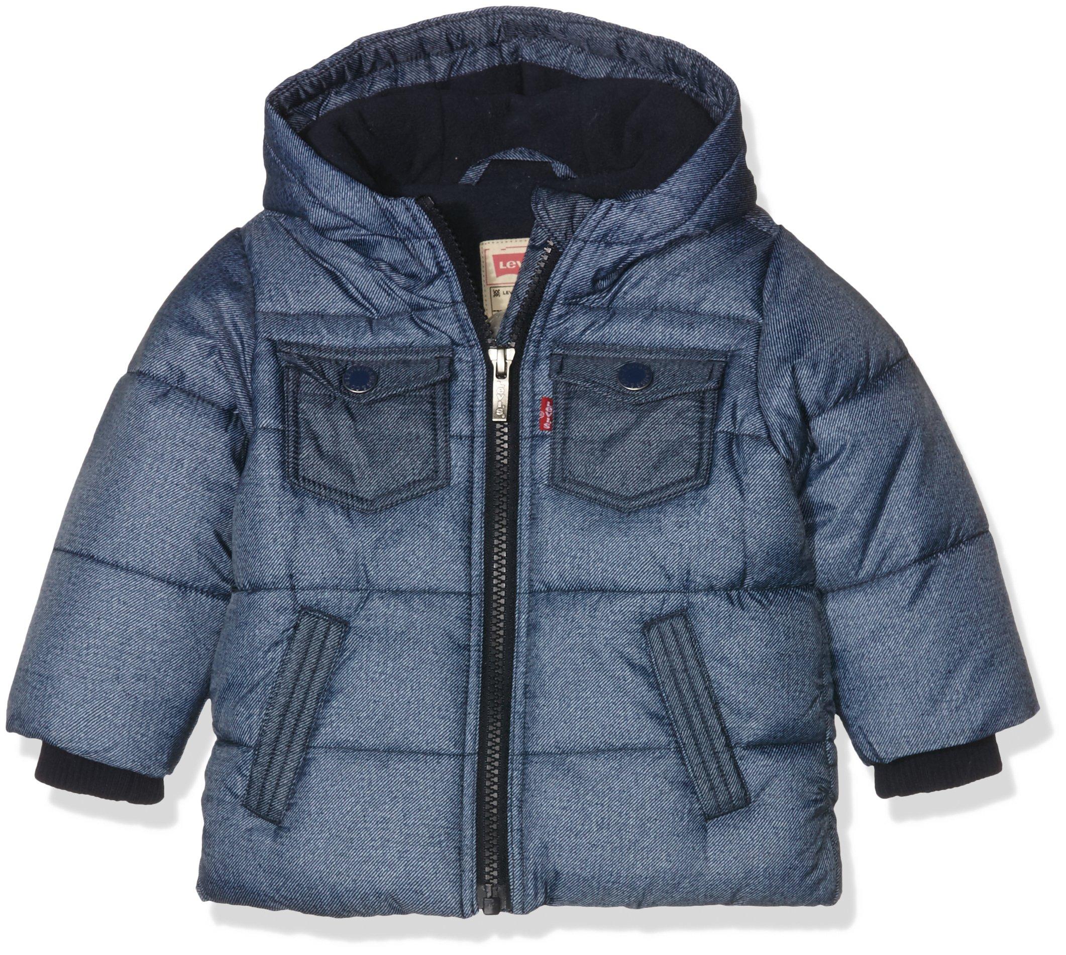Levi's NI41014, Chaqueta Impermeable para Bebés