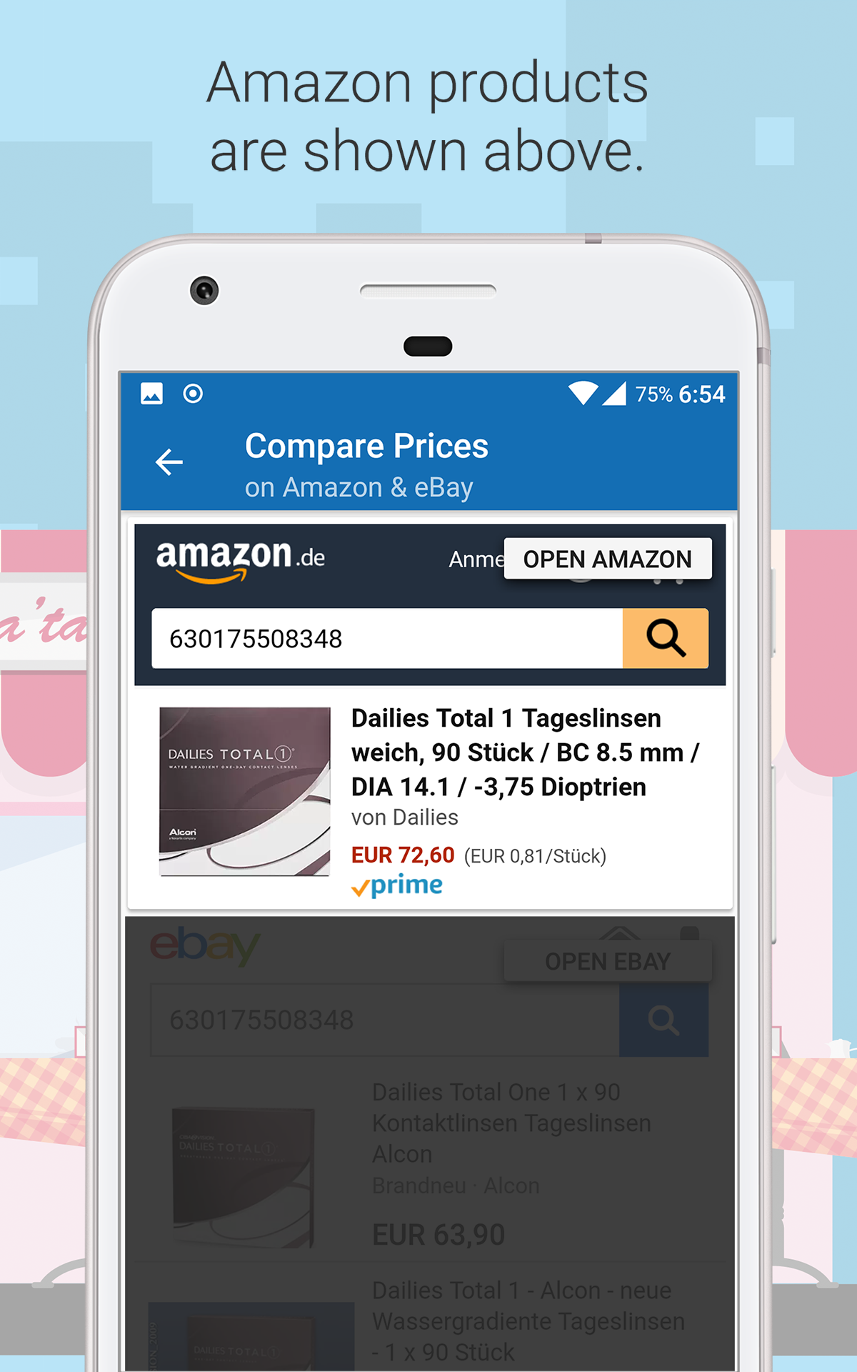 Compare Prices with Barcode Scanner - for Amazon and eBay: Amazon co
