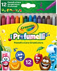 Crayola Silly Scents Çevrilebilen Pastel Boya Kalemi, 12'li