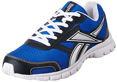 reebok mens running shoes. reebok men\u0027s run scape navy and white running shoes - 8 uk/india (42 mens