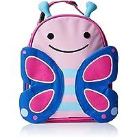 Skip Hop Zoo Lunchie Mini Vespertasche für den Kindergarten, isoliert, mit Namensschild, mehrfarbig, Schmetterling…