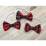 Babies Tartan Bow Tie, Royal Stewart Tartan