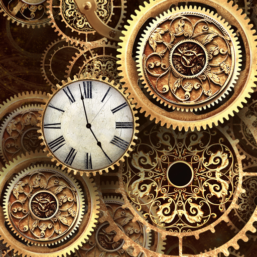 Gold Clock Live Wallpaper Pro Amazon Co Uk Appstore For