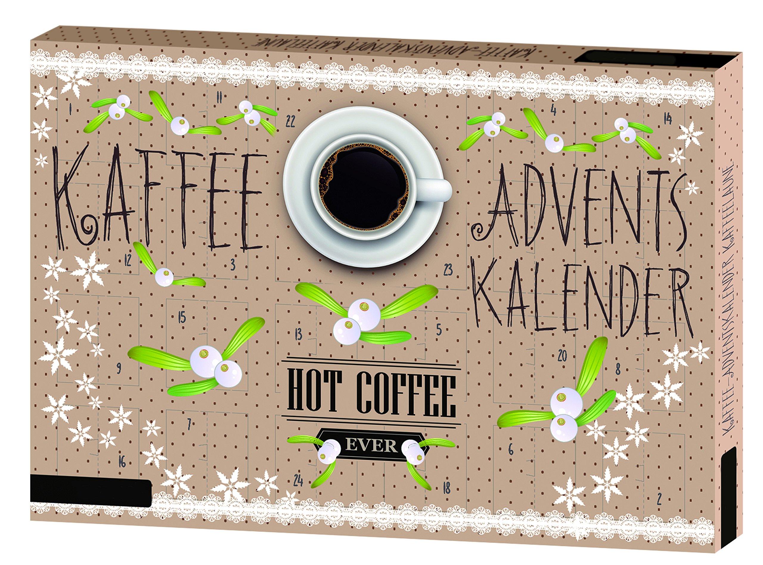 Roth Kaffeelaune Adventskalender, 1er Pack (1 x 200 g) 1