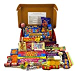 Bumper Retro Sweets Selection Luxury Red Gift Box With A Gold Bow; Crammed Full Of The Most Iconic Sweets From Your...