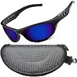 ZILLERATE Gafas de Sol Deportivas Polarizadas para Hombre y Mujer, Ciclismo Pesca Golf Running Conducción Vela Esquí, Protecc