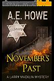 November's Past (Larry Macklin Mysteries Book 1) (English Edition)