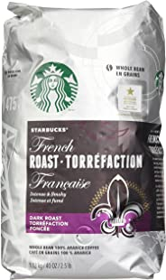 Starbucks French Dark Roast Whole Bean 100% Arabica Coffee 1.13 Kg