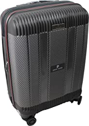 Pierre Cardin | Suitcase | Luggage | Trolley | Carry on | Travel bag | Large size | Grey-Black color