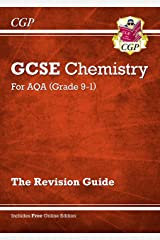 Grade 9-1 GCSE Chemistry: AQA Revision Guide with Online Edition - Higher (CGP GCSE Chemistry 9-1 Revision) Paperback