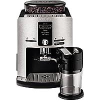 Krups EA82FD Kaffeevollautomat Latt'Espress Quattro Force mit Aluminiumfront, One-Touch Funktion, Milchbehälter, 1,7 L…