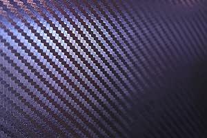 Vinie Chameleon 3 D Carbon Blau Wird Zu Lila Autofolie 100x152cm Blasenfrei Mit Luftkanäle Gratis Montageanleitung 15 99 1qm Auto