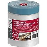 Kip Tape 233-14 Weefselmasker – Afdekfolie met textielband plakstrip voor het schilderen en lakken – Speciaal voor ruwe onder