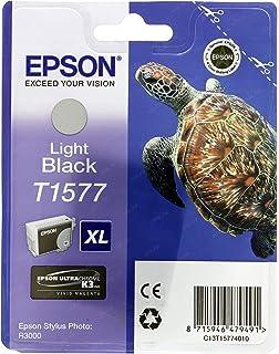 Epson C13t15754010 Tintenpatrone T1575 Für Stylus Photo R3000 Cyan Hell Bürobedarf Schreibwaren