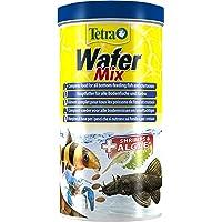 Tetra Wafer Mix - Fischfutter für alle Bodenfische (z.B. Welse) und Krebse, für gesundes Wachstum und eine bessere…
